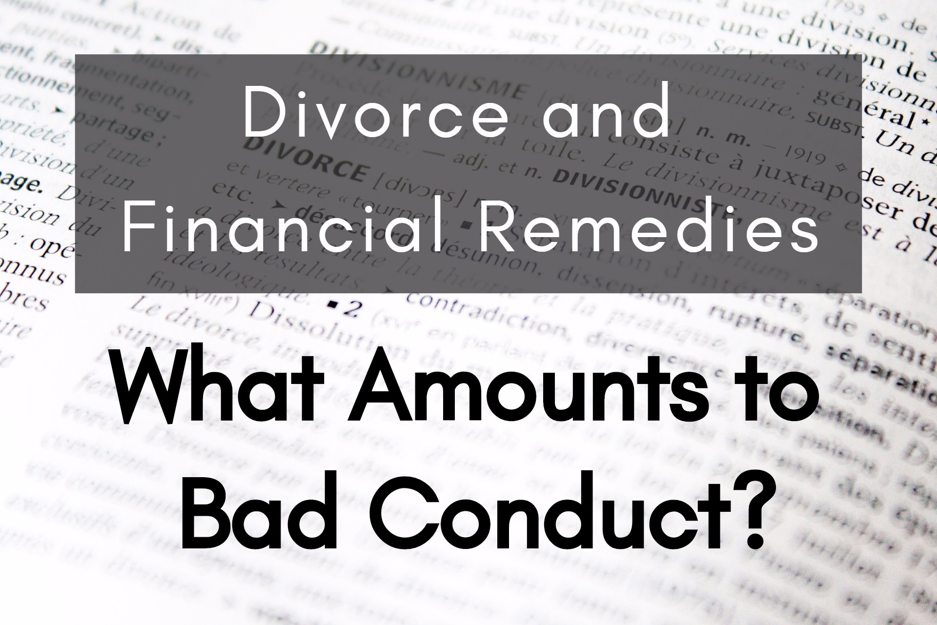 divorce and secure financial status After your divorce or child support agreements in order to help you secure your • if your ex-spouse has had a significant increase in financial status.